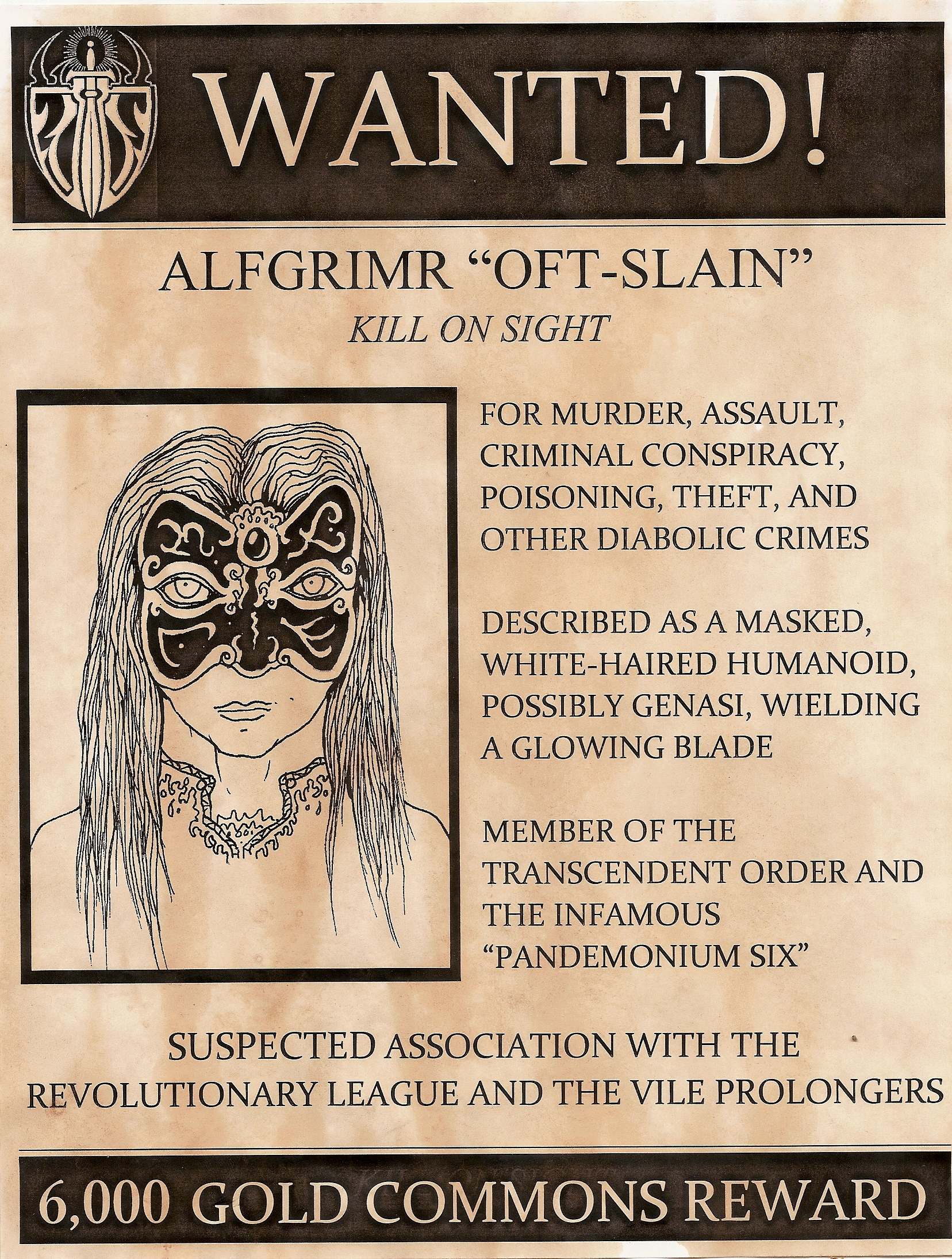 Wanted Alfgrimr