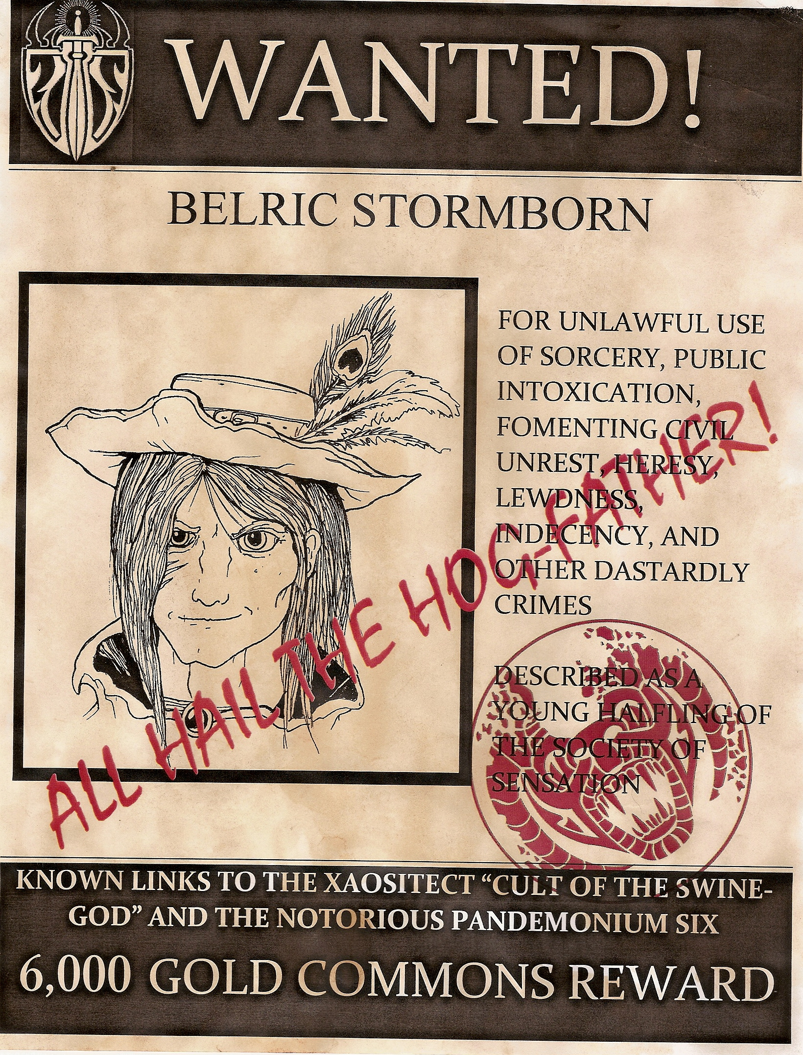 Wanted Belric