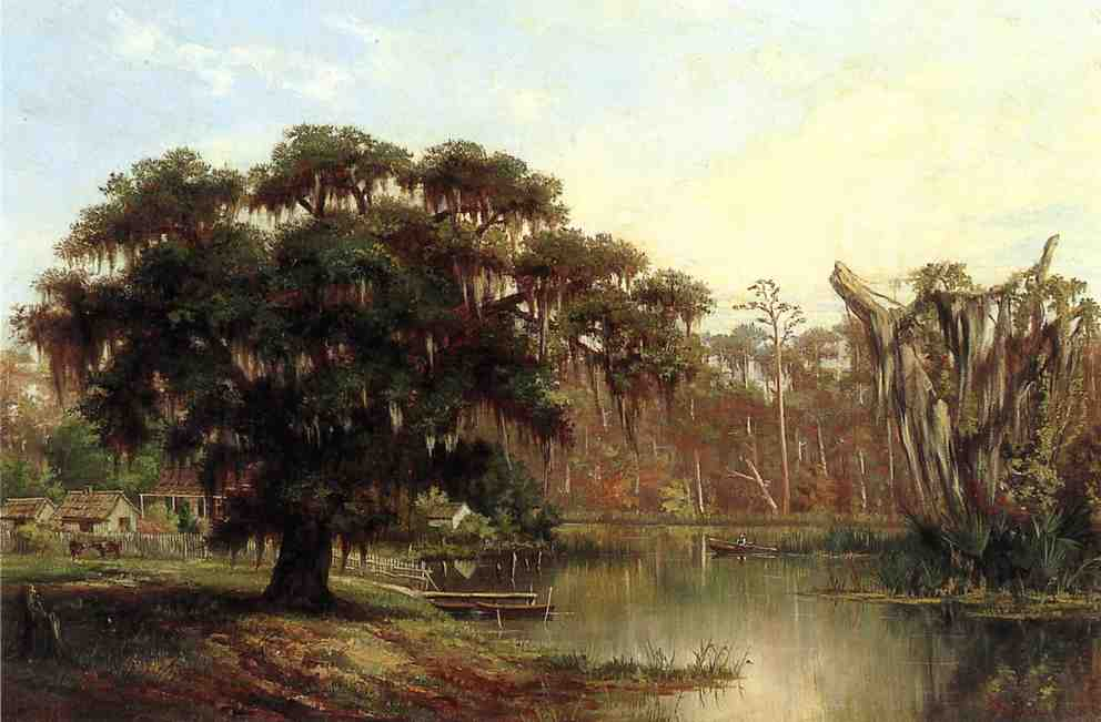 William-Henry-Buck-xx-Louisiana-Bayou-xx-Private-Collection