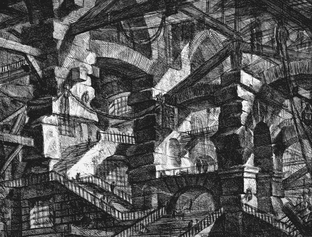 Piranesi_Carcere_XIV_Prisons_The Gothic Arch